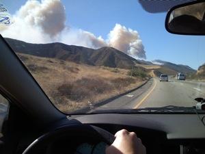 California Fire Grapevine